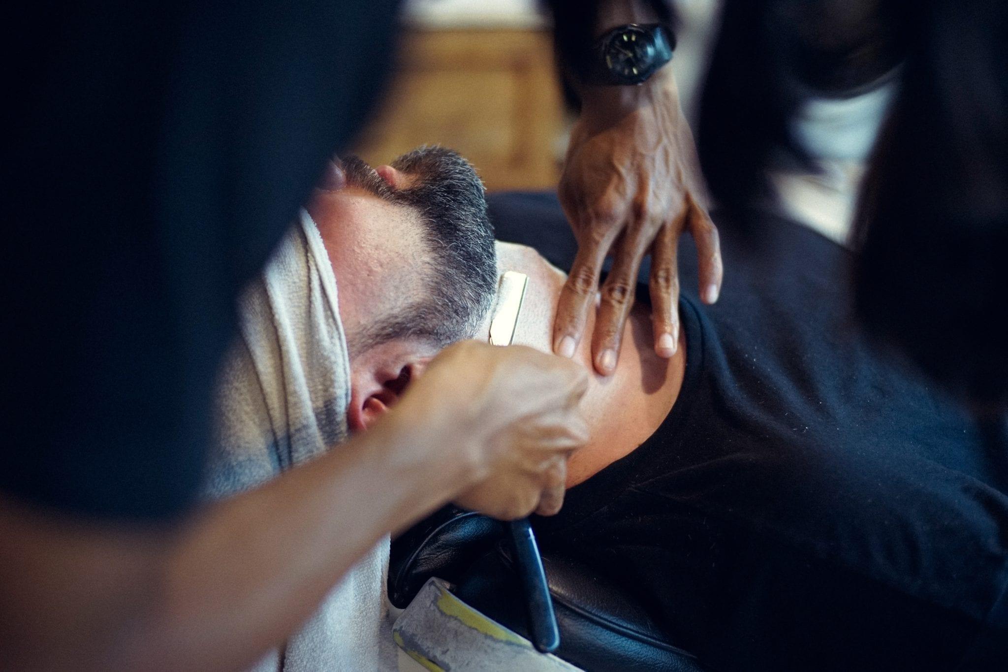 Rasage Barbier